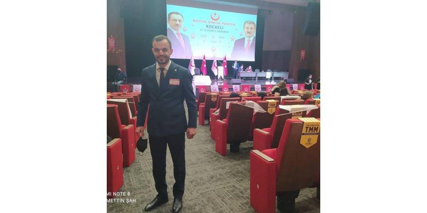 Ayyıldız,Büyük Birlik Partisi Kocaeli yeni yönetiminde yer aldı
