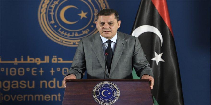 Libya Ulusal Birlik Hükümeti Başbakanı Abdulhamid Dibeybe, pazartesi günü temaslarda bulunmak üzere Türkiye'yi ziyaret edecek.