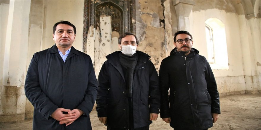 Cumhurbaşkanlığı İletişim Başkanı Altun'dan Karabağ'daki yıkımı görmezden gelen uluslararası topluma tepki