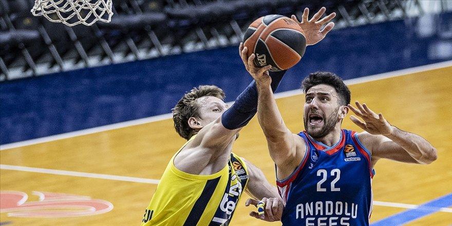 THY Avrupa Ligi'nde Anadolu Efes ile Fenerbahçe Beko'nun play-off maç programı belli oldu