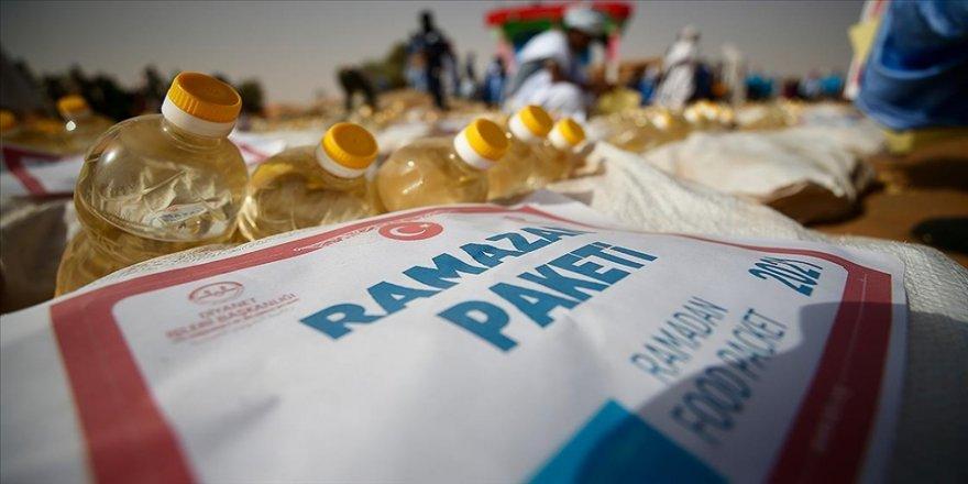 Türkiye'nin yardımlarıyla ramazanın bereketi dünyayı saracak