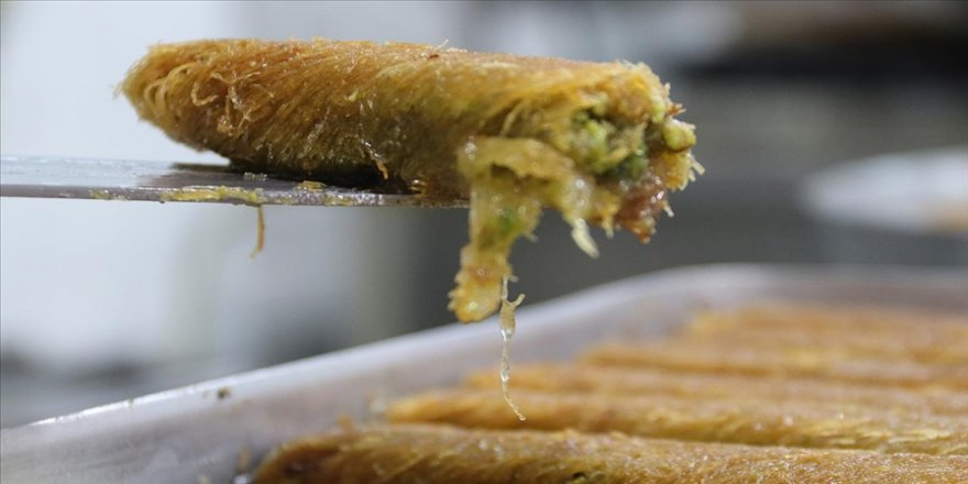 Tescilli lezzet Diyarbakır kadayıfı ramazanda iftar sofralarını tatlandıracak