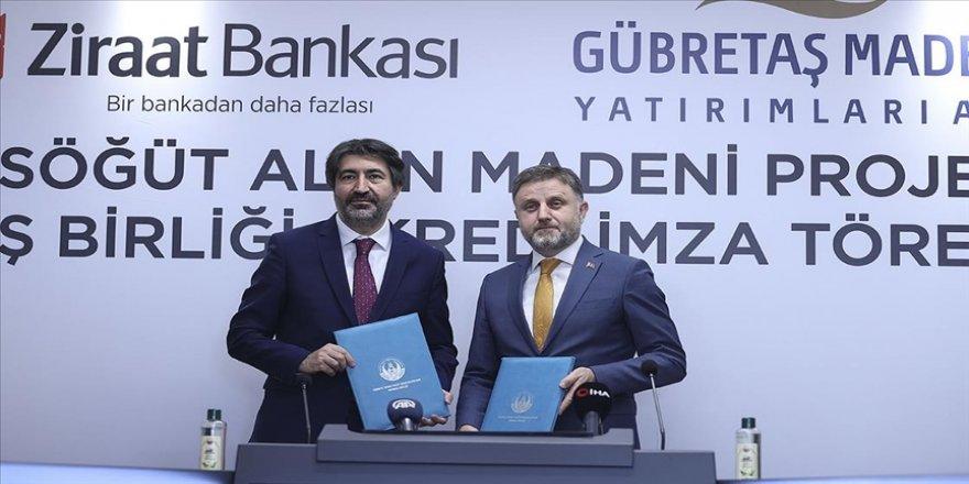 GÜBRETAŞ Maden AŞ ile Ziraat Bankası 'Söğüt Altın Madeni Projesi'nde iş birliğine gidiyor