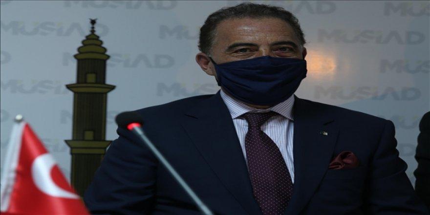 Cezayir'in Ankara Büyükelçisi Murad Adcabi, Mardinli iş adamlarına Cezayir'deki yatırım fırsatlarını aktardı