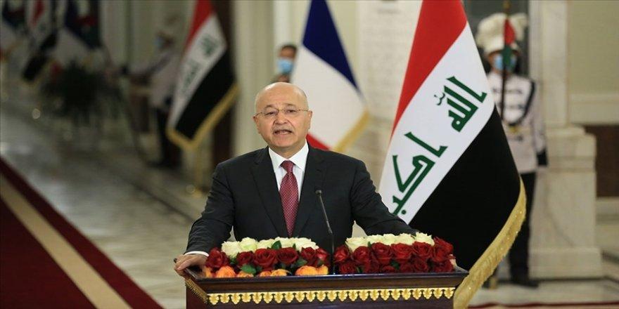 Irak Cumhurbaşkanı Salih, Türkmenlerin yeni lideri Turan'la Kerkük'te güvenlik ve istikrar konularını görüştü