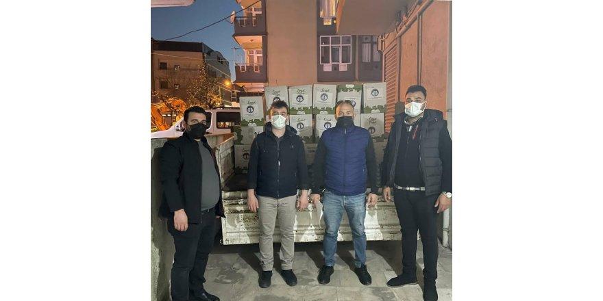 Trabzonlu Gençlerden 300 ramazan kolisi yardımı!
