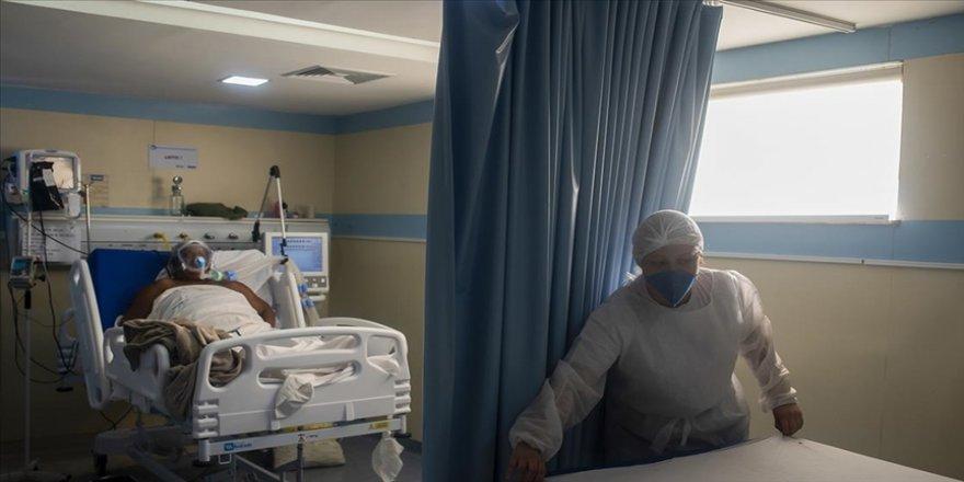 Brezilya'da bir günde Kovid-19'dan 3 bin 808 kişi hayatını kaybetti