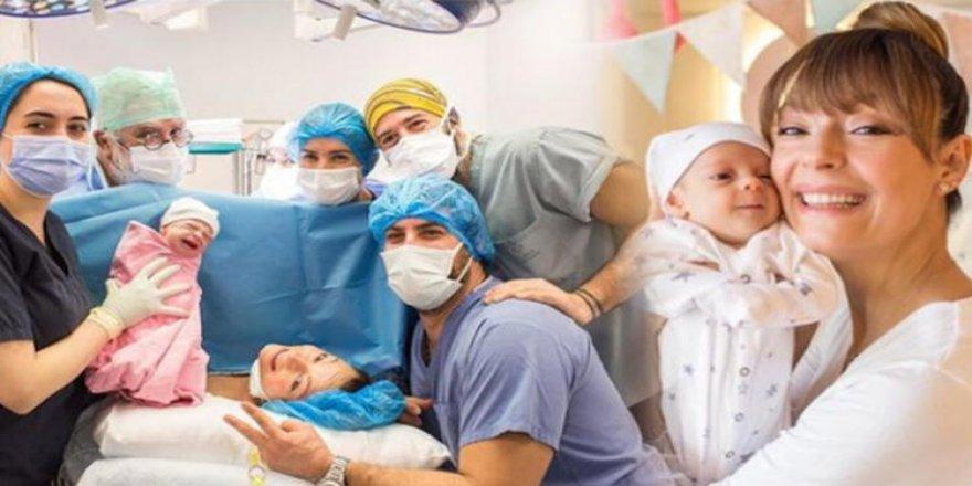 Özge Özder, kızı Luna'nın doğum fotoğrafını paylaştı