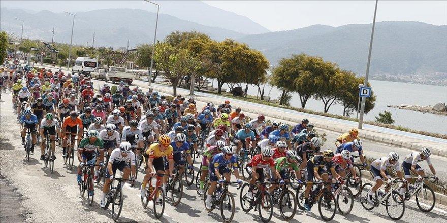 56. Cumhurbaşkanlığı Türkiye Bisiklet Turu Fethiye-Marmaris etabı başladı