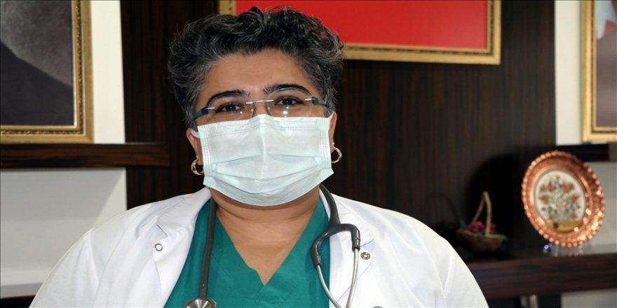 'Hastalarla birlikte personel için de çok zor bir süreç'