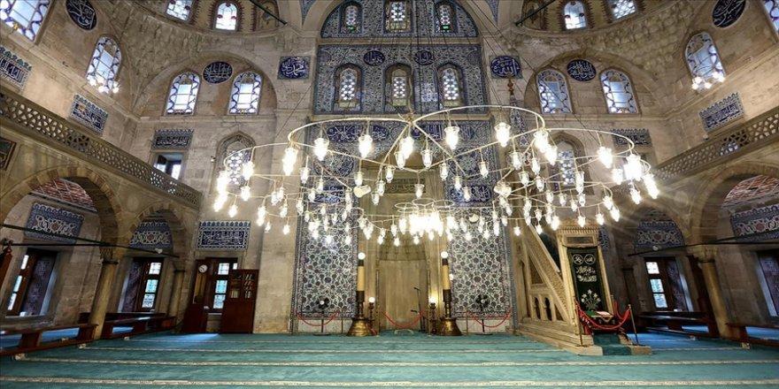 Sokullu Mehmet Paşa Camisi'nde 'cennetten' gelen parçaları görmek mümkün
