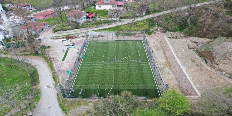 Köylere futbol sahası