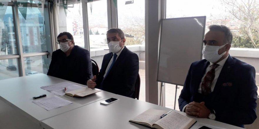 Gelecek Partisi Teşkilat Başkanı Dr. Selim Temurci,Kocaeli Teşkilatında toplantılar gerçekleştirdi