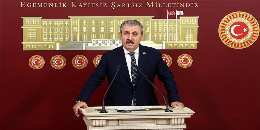 BBP Genel Başkanı Destici: Cumhurbaşkanı tarafından yapılan çağrıya bütün siyasi partilerimiz olumlu yaklaşmalıdır