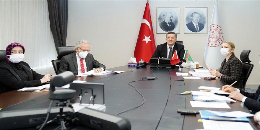 Bakan Ziya Selçuk: Ortak Türkmen-Türk Genel Eğitim Okulumuza ilişkin mutabakat sağladık