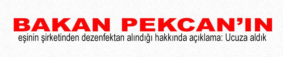Bakan Pekcan'ın eşinin şirketinden dezenfektan alındığı hakkında açıklama: Ucuza aldık