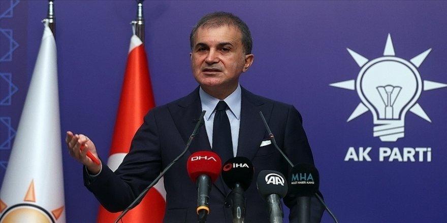 AK Parti Sözcüsü Çelik: Milli iradeyi ölümle tehdit edenlere meydan okuyoruz