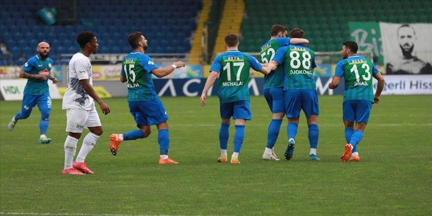Gol düellosunda kazanan Çaykur Rizespor