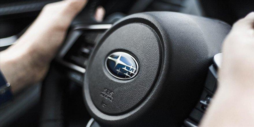Subaru ABD'deki tesislerinde üretimi durdurdu