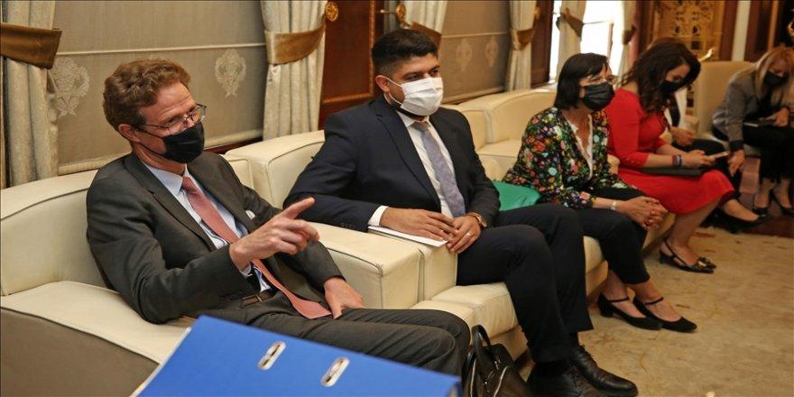 AB Türkiye Delegasyonu Başkanı Büyükelçi Meyer-Landrut'tan, Suriyelilerin sığındığı ülkelere destek açıklaması