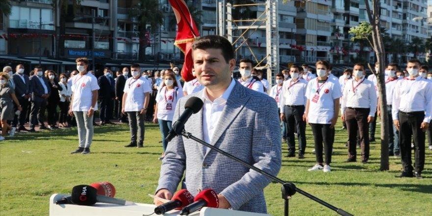 Ülkü Ocakları Başkanı Yıldırım: Ülkücü Türk gençliği Nutuk'un kutlu şuuruna erişmiştir
