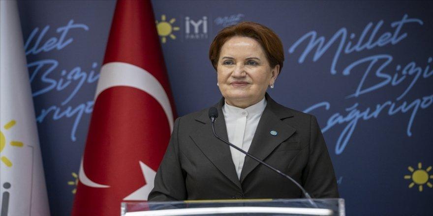 İYİ Parti Genel Başkanı Akşener: Bu cennet vatanı çok daha yükselmiş bir şekilde evlatlarımıza teslim etmekle mükellefiz