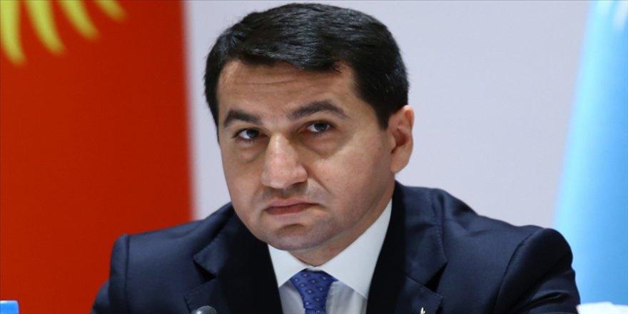 Azerbaycan Cumhurbaşkanı Müşaviri Hacıyev'den ABD'ye 24 Nisan çağrısı