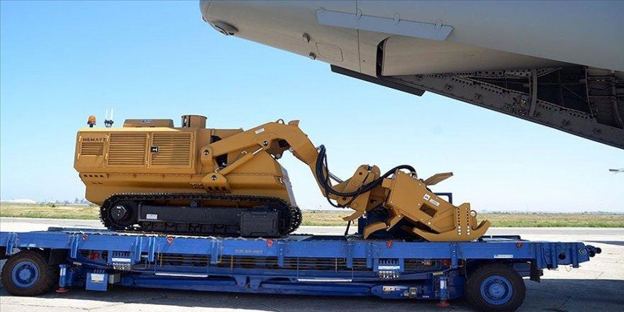 Azerbaycan'a 5 uzaktan kumandalı mayın temizleme aracı MEMATT daha teslim edildi