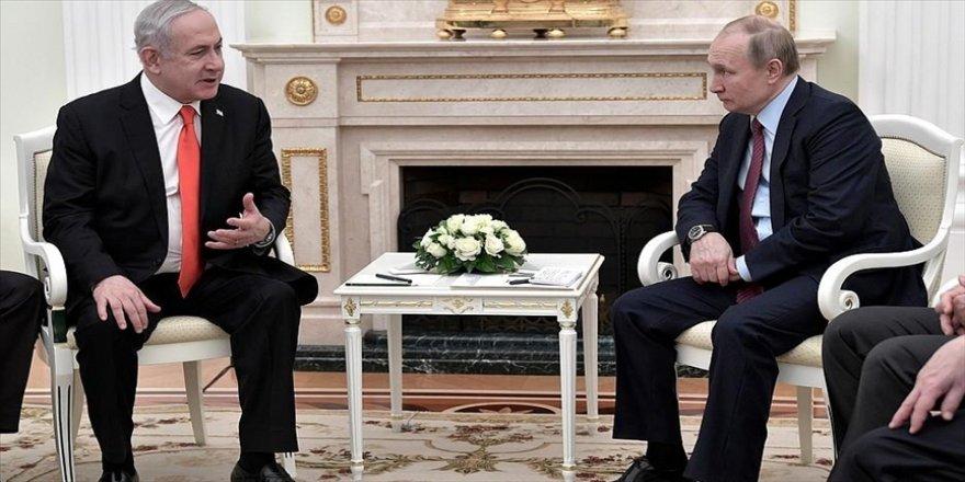 Putin ve Netanyahu Suriye meselesini görüştü