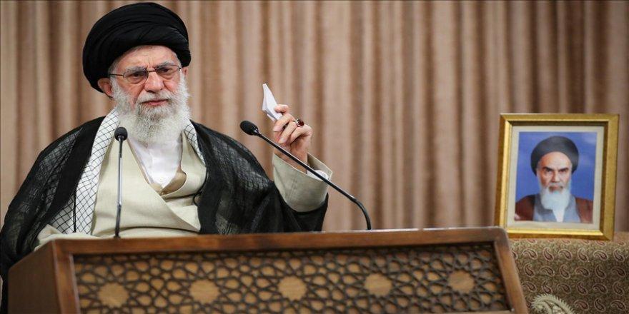 İran lideri Hamaney: İsrail bir ülke değil terör üssüdür