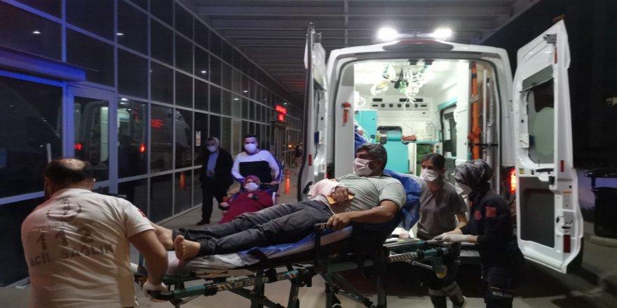 Gebze'de meydana gelen feci kaza da kolu yük rampasına sıkıştı
