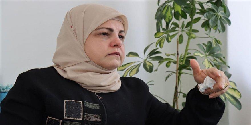 Terör örgütü DEAŞ'ın roketli saldırısında üç çocuğunu kaybeden Suriyeli Fatma'nın acısı dinmiyor