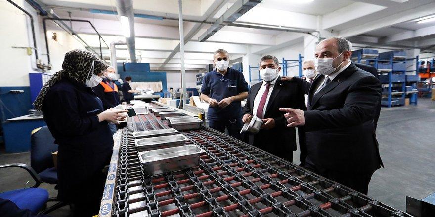 Sanayi ve Teknoloji Bakanı Varank: Katma değerli üretimle Türkiye'yi kalkındırma hamlemizde önemli işler başaracağız