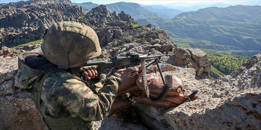 Irak'ın kuzeyindeki Avaşin-Basyan bölgesinde 5 PKK'lı terörist etkisiz hale getirildi