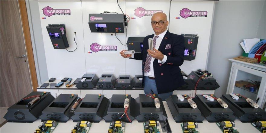 Malatyalı girişimci virüsleri kripton gazı içerikli ultraviyole lambayla yok eden cihaz geliştirdi
