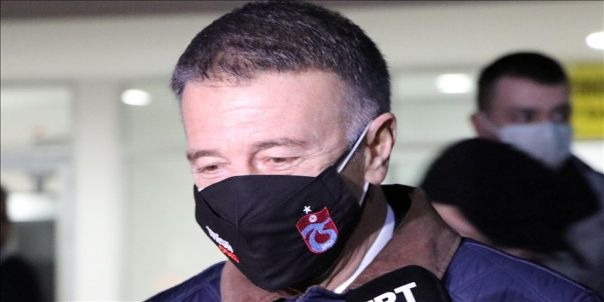 Trabzonspor Kulübü Başkanı Ahmet Ağaoğlu'ndan transfer açıklaması