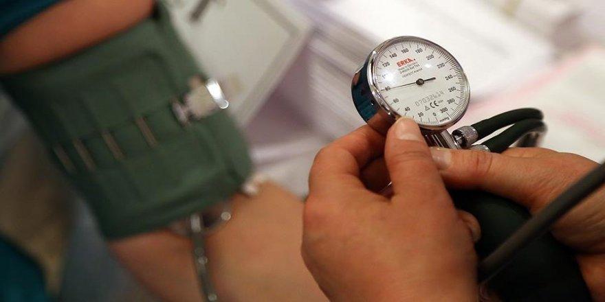 Türkiye'de her üç erişkinden biri hipertansiyon hastası