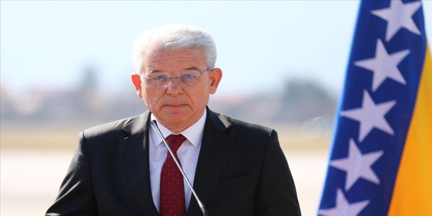 Boşnak lider Dzaferovic, İsrail Başbakanı Netanyahu'ya tepki gösterdi