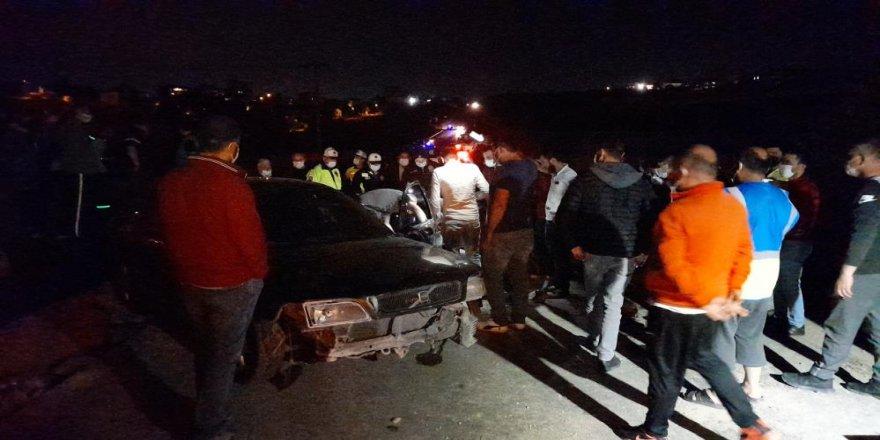 Gebze'de bir vatandaş takla atan aracın da can verdi