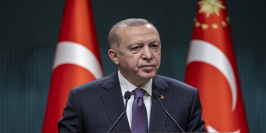 Cumhurbaşkanı Erdoğan: Uluslararası camia İsrail'e güçlü ve caydırıcı bir ders vermeli