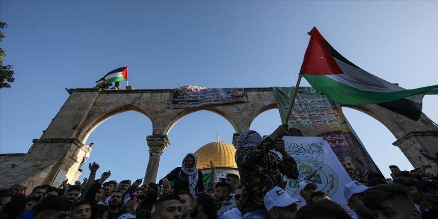 Hamas: İsrail'in işlediği katliamlar Filistin direnişine karşı hayali başarı üretme çabası