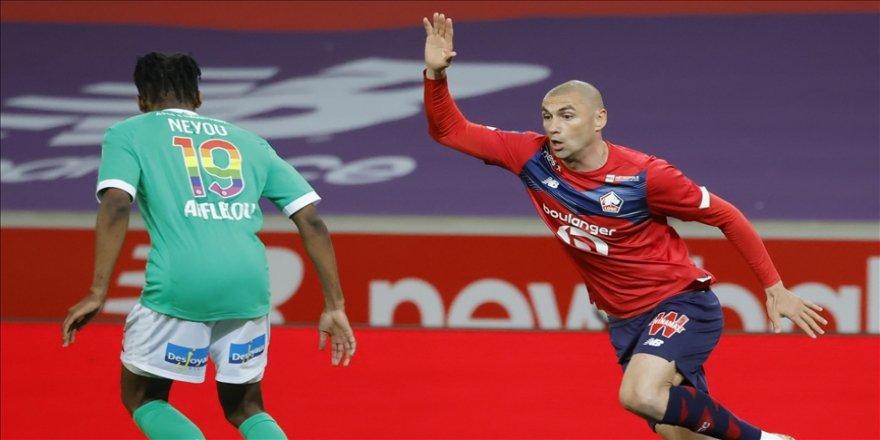 Lille, Saint-Etienne ile golsüz berabere kaldı