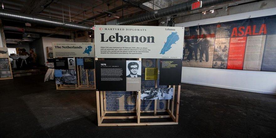 Cumhurbaşkanlığı İletişim Başkanlığının düzenlediği 'Şehit Diplomatlar Sergisi' Washington'da açıldı