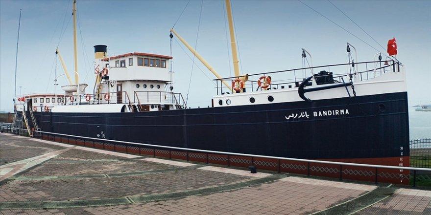 Mustafa Kemal Atatürk'ün Samsun'a çıkışının 102. yılında Bandırma Vapuru sanal müzeye dönüştürüldü