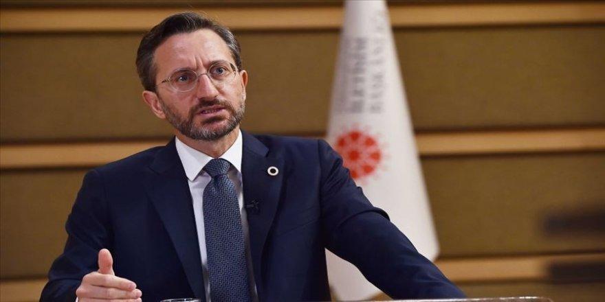 Cumhurbaşkanlığı İletişim Başkanı Altun'dan Akşener'in Cumhurbaşkanı Erdoğan'a yönelik ifadelerine tepki