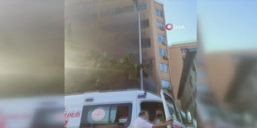 Cerrahpaşa Tıp Fakültesi Hastanesi yerleşkesindeki kantinde yangın çıktı