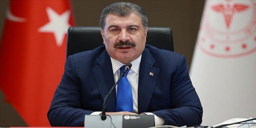 Sağlık Bakanı Koca: Salgın iyice geriledi, yenileceği gün çok yakın