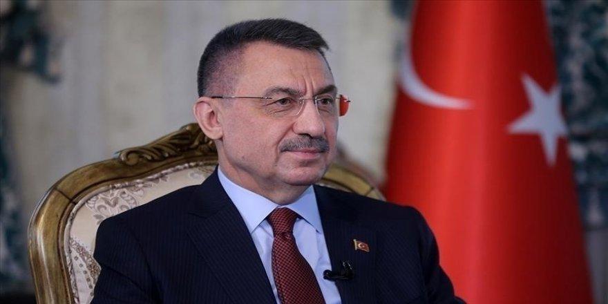 Cumhurbaşkanı Yardımcısı Oktay'dan Jandarma Genel Komutanı Orgeneral Çetin'e tebrik telefonu