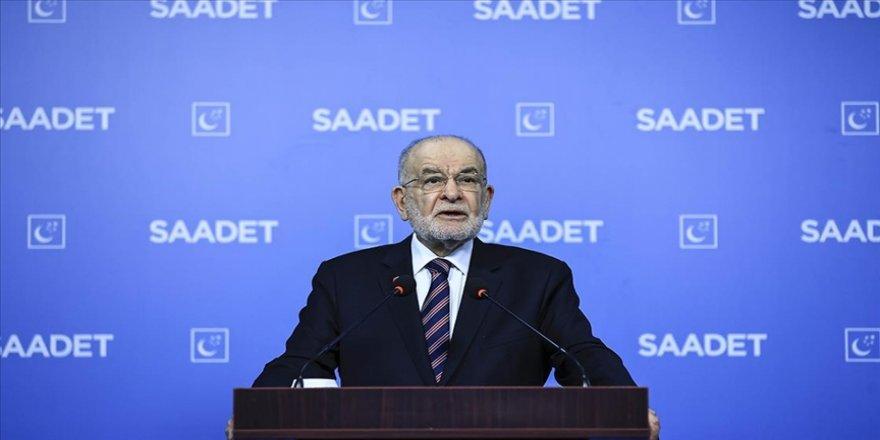 Saadet Partisi Genel Başkanı Karamollaoğlu: İslam dünyasının D-8'lerin kuruluşundaki ufuk ve vizyona ihtiyacı var