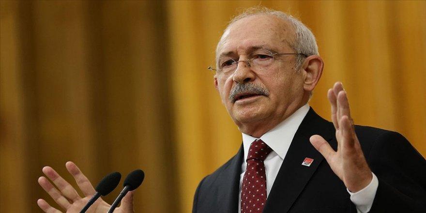 CHP Genel Başkanı Kılıçdaroğlu: Doğayı seviyorlarsa deşarjın süratle durdurulması lazım